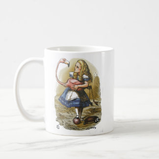 Alice in Wonderland Flamingo Mug