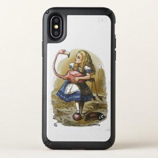 Alice in Wonderland Flamingo Phone Case