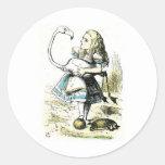 Alice in Wonderland: Flamingo Sticker