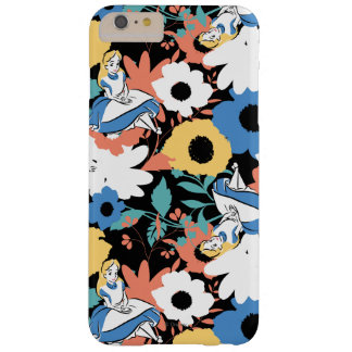 Alice in Wonderland Floral Retro Pattern Barely There iPhone 6 Plus Case