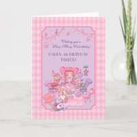 Alice in Wonderland | Folded Birthday