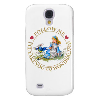 Alice In Wonderland - Follow Me Samsung Galaxy S4 Case