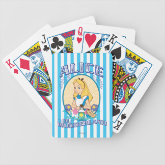 Alice in Wonderland - Frame Bicycle Playing Cards