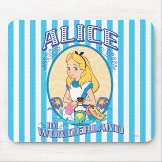 Alice in Wonderland - Frame Mouse Pad
