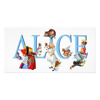 ALICE IN WONDERLAND FRIENDS PHOTO CARDS