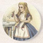 Alice in Wonderland fun Beverage Coaster