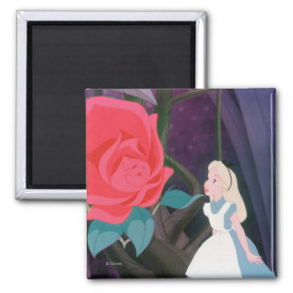 Alice in Wonderland Garden Flower Film Still Magnet
