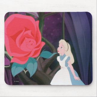 Alice in Wonderland Garden Flower Film Still Mouse Pad