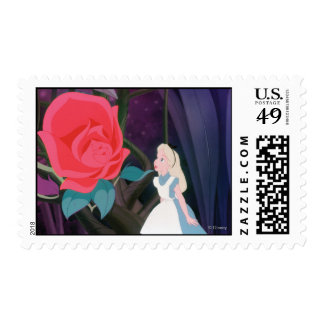 Alice in Wonderland Garden Flower Film Still Postage
