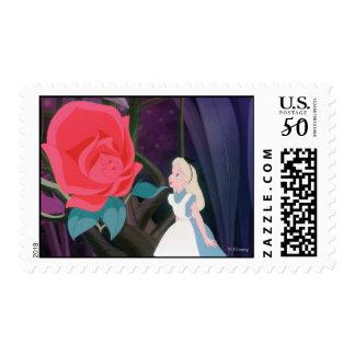 Alice in Wonderland Garden Flower Film Still Postage
