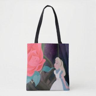 Alice in Wonderland Garden Flower Film Still Tote Bag