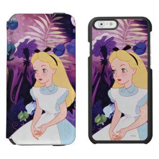 Alice in Wonderland Garden Flowers Film Still iPhone 6/6s Wallet Case