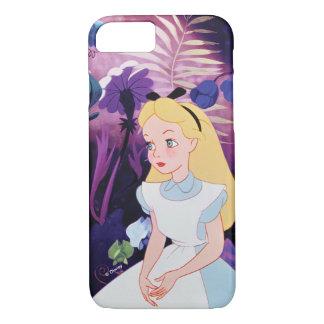 Alice in Wonderland Garden Flowers Film Still iPhone 8/7 Case