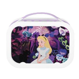 Alice in Wonderland Garden Flowers Film Still Lunch Box