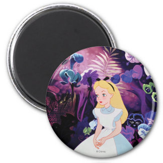 Alice in Wonderland Garden Flowers Film Still Magnet