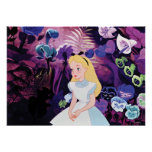 Alice in Wonderland Garden Flowers Film Still Poster