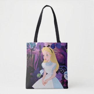 Alice in Wonderland Garden Flowers Film Still Tote Bag
