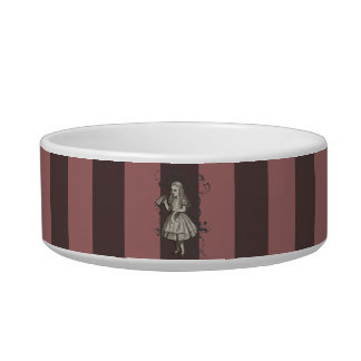 Alice In Wonderland Grunge (Pink) Bowl