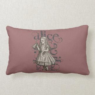 Alice In Wonderland Grunge (Pink) Pillows