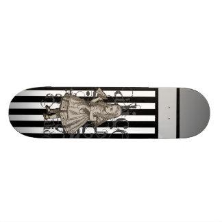 Alice In Wonderland Grunge Skateboard Deck