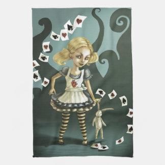 Alice in Wonderland Hand Towel