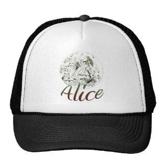 Alice in Wonderland Trucker Hats