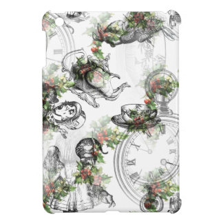 Alice in Wonderland Holly Christmas Cover For The iPad Mini