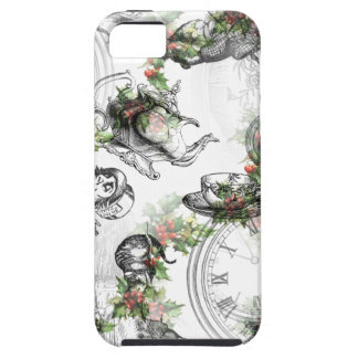 Alice in Wonderland Holly Christmas iPhone SE/5/5s Case