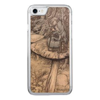 Alice in Wonderland Hookah Smoking Caterpillar Carved iPhone 7 Case