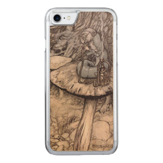 Alice in Wonderland Hookah Smoking Caterpillar Carved iPhone 8/7 Case