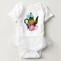 Alice In Wonderland | How About A Cuppa Tea? Baby Bodysuit