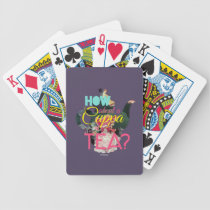 Alice In Wonderland | How About A Cuppa Tea? Bicycle Playing Cards
