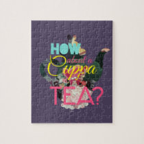 Alice In Wonderland | How About A Cuppa Tea? Jigsaw Puzzle