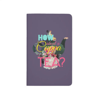 Alice In Wonderland   How About A Cuppa Tea? Journal