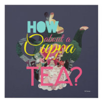 Alice In Wonderland | How About A Cuppa Tea? Panel Wall Art