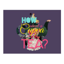 Alice In Wonderland | How About A Cuppa Tea? Postcard