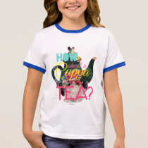 Alice In Wonderland | How About A Cuppa Tea? Ringer T-Shirt
