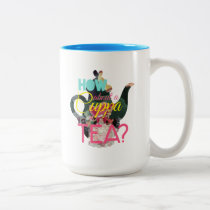 Alice In Wonderland | How About A Cuppa Tea? Two-Tone Coffee Mug