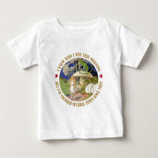 Alice in Wonderland - I Knew Who I Was This Mornin Baby T-Shirt