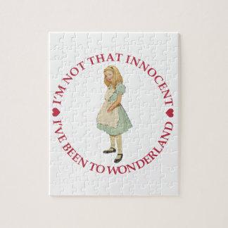 Alice in Wonderland - I m Not That Innocent Puzzles