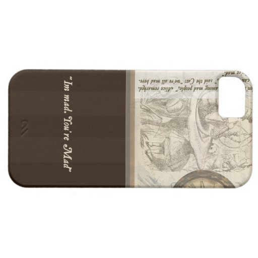 """Alice in Wonderland - """"Im mad. You're Mad"""" case iPhone 5 Covers"""