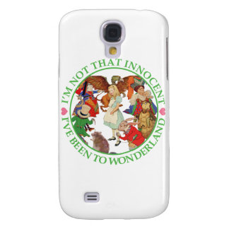 Alice in Wonderland - I'm Not That Innocent Galaxy S4 Cover
