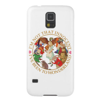Alice In Wonderland - I'm Not That Innocent Galaxy S5 Cover