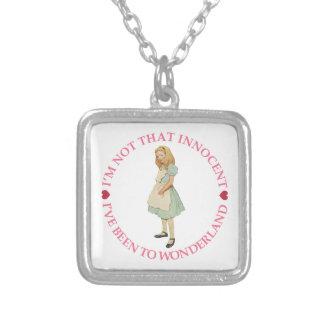 Alice in Wonderland - I'm Not That Innocent Custom Necklace