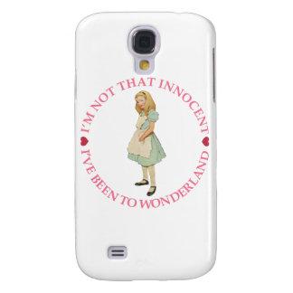 Alice in Wonderland - I'm Not That Innocent Samsung Galaxy S4 Case
