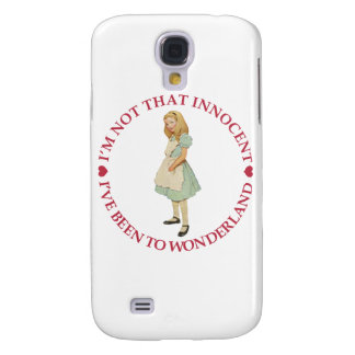Alice in Wonderland - I'm Not That Innocent Samsung Galaxy S4 Cover