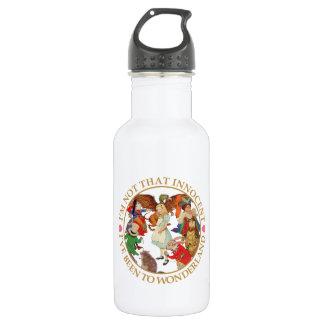 Alice In Wonderland - I'm Not That Innocent Stainless Steel Water Bottle