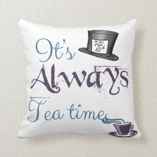 Alice in Wonderland inspired Throw Pillow