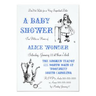 Alice in Wonderland Invitation