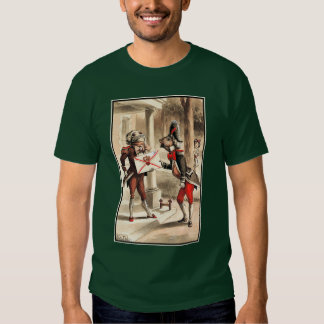 Alice in Wonderland - Invitation from the Queen T Shirt